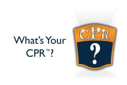 What's Your CPR?